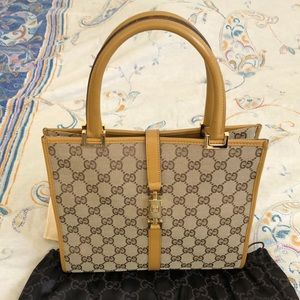 🌸VINTAGE🌸 Authentic GUCCI JACKIE TOTE